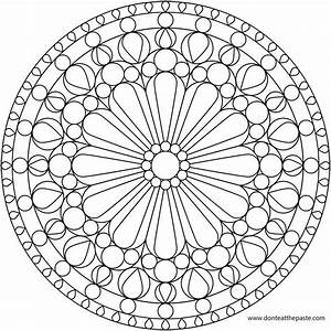 Coloring Pages Geometric Designs - AZ Coloring Pages