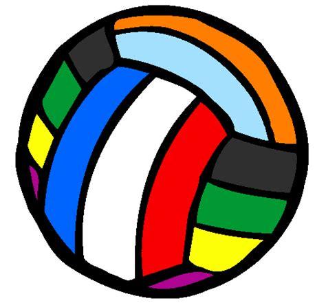 ballon si鑒e dessin de ballon de volley colorie par membre non inscrit le 08 de janvier de 2011 à coloritou com