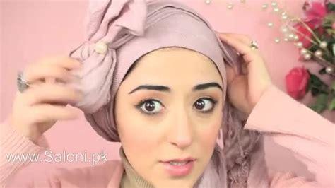 Hijab Tutorial Pretty Bow Turban Saloni Health And Beauty Supply