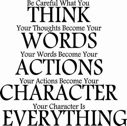 Quotes Character Everything Thought Karma Daily Funny