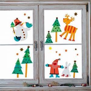 Fensterdeko Weihnachten Kinder : sachenmacher fensterbilder weihnachten bastelset ~ Yasmunasinghe.com Haus und Dekorationen