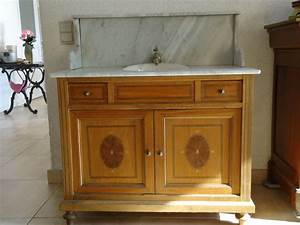 formidable meuble salle de bain ancien occasion 1 With meuble salle de bain ancien occasion