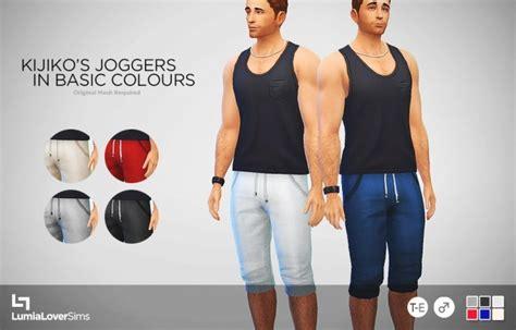 Kijiko's Joggers 6 Basic Colours At Lumialover Sims » Sims