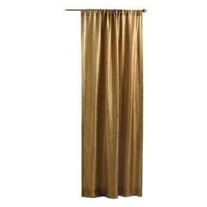 platinum embroidered ruched faux silk taffeta curtains on