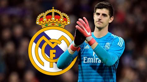 thibaut courtois faring  real madrid football