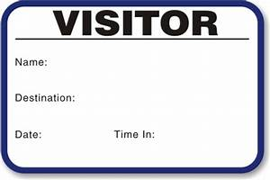 time expiring small 1 day voiding visitor pass With visitor pass template