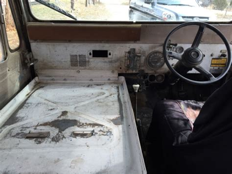 mail jeep interior 1984 rhd rural carrier postal right hand drive