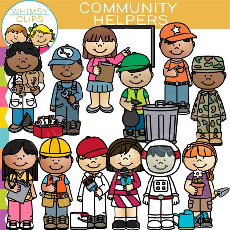 Community Helpers Clipart Ness City Library