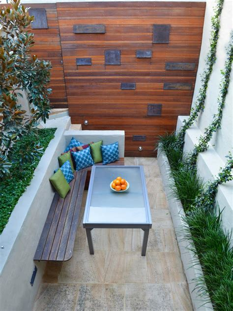 square concrete planter pictures and tips for small patios hgtv