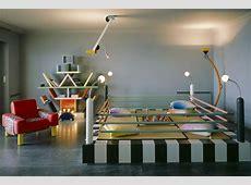 Karl Lagerfeld Memphis Apartment, Monaco 1980s