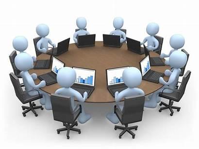 Project Meeting Team Plan Create 3d Steps