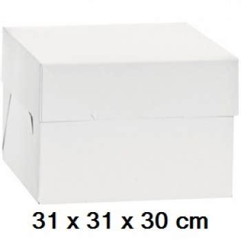 beistelltisch 30 x 30 hoher tortenkarton wei 223 31 x 31 x 30 cm meincupcake shop