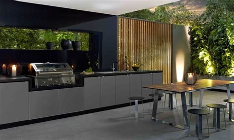 Kitchen Ideas With Stainless Steel Appliances - 30 fresh and modern outdoor kitchens