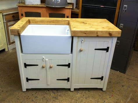 freestanding farmhouse kitchen sink handmade freestanding rustic country farmhouse butler 3580
