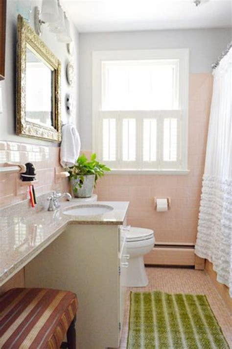 pink tile bathroom ideas 36 retro pink bathroom tile ideas and pictures