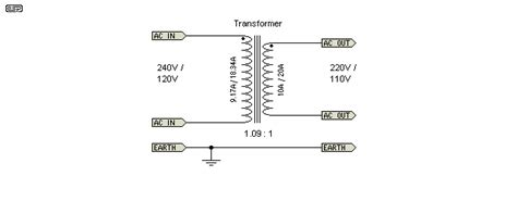 50hz 220v Wiring Diagram by Bucking Xfmrs
