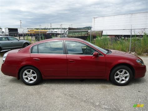 red nissan altima 2006 code red metallic nissan altima 2 5 s special edition