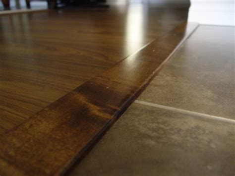 Wood To Tile Transition Strips by Laminate Flooring Door Transitions Laminate Flooring