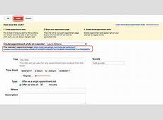 Google Calendar Appointment Slots U32Library