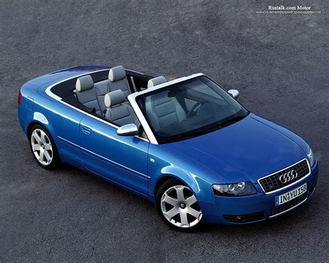 Audi S4 Cabriolet Picture 25520 Audi Photo Gallery