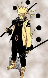 Sage of Six Paths Naruto vs Sage of Six Paths Madara ...