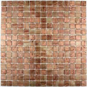 Carrelage Mosaique De Verre Pour Salle De Bain Pdv Gold