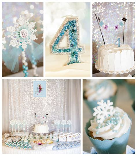 Kara's Party Ideas Frozen Themed Fourth Birthday Party