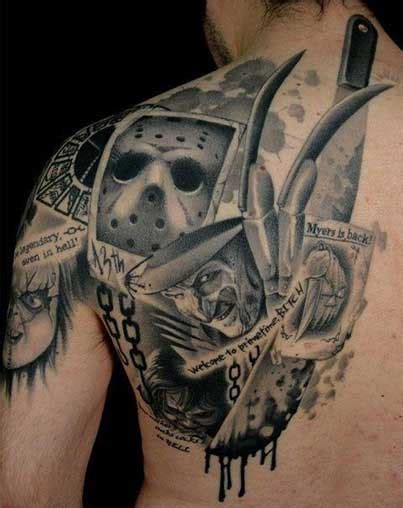 horror  tattoos rebel circus