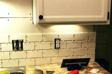 how to install subway tile kitchen backsplash cost to install subway tile backsplash tile installation 9458