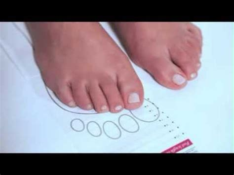 foot measuring guide shoe size guide simply  youtube