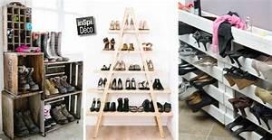 Rangement Chaussures Original : construire une cloture en bois de palette 20 exemples inspirants video ~ Teatrodelosmanantiales.com Idées de Décoration