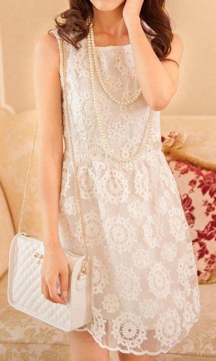 Sleeveless white lace dress 3022069 | Lace white dress ...
