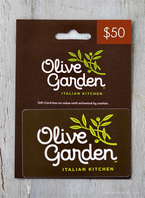 olive garden gift cards dinner a my favorite things giveaway yellow