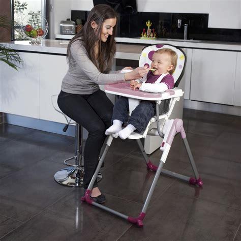 chaise haute reglable chaise haute réglable slim prune de babymoov chez naturabébé