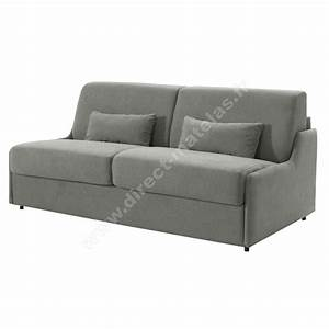 canape convertible dm gain de place tissu gris clair With canapé gain de place convertible