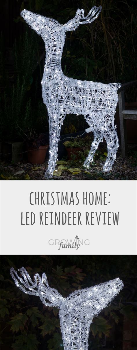 Review & Giveaway Gardensite Led Christmas Reindeer