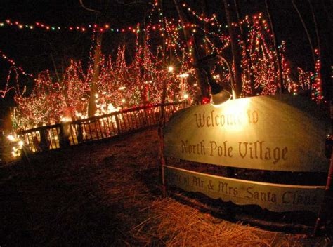 norwalk s own north pole lights up the holidays