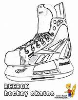 Hockey Coloring Sheets Ice Skates Players Pages Sports Cool Yescoloring Trick Hat Skate Nhl Printable Colouring Books Boys Printables Drawing sketch template