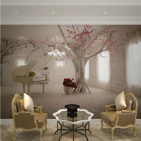 3d Wall Murals Wallpaper by Custom Any Size 3d Wall Mural Wallpapers For Living Room