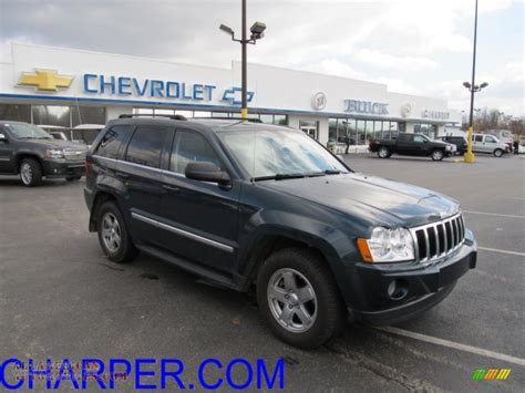 light blue jeep grand cherokee 2006 jeep grand cherokee limited 4x4 in steel blue