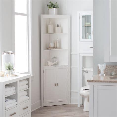 corner bathroom linen cabinet belham living longbourn corner linen cabinet linen