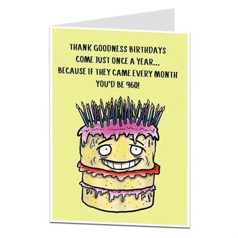 funny  birthday card age joke limalimacouk