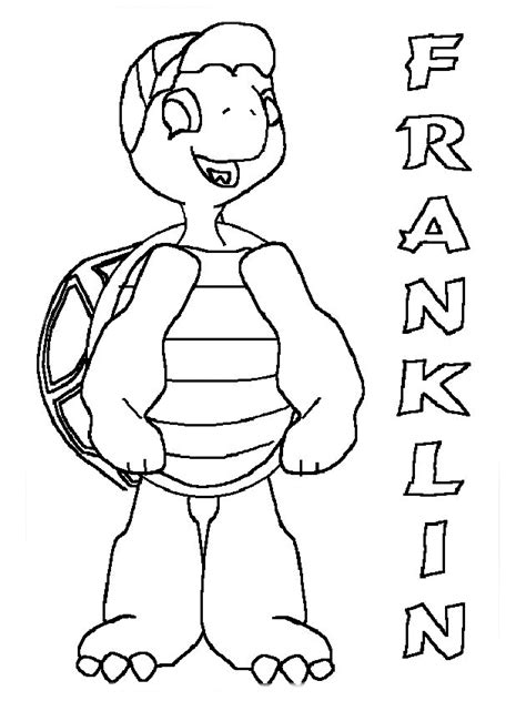 franklin coloring pages coloringpagescom