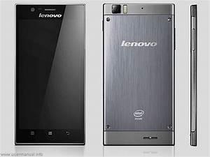 Lenovo K900 User Guide Manual