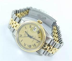 Rolex Uhr Herren Gold : rolex datejust herren uhr mit stahl gold top zustand ebay ~ Frokenaadalensverden.com Haus und Dekorationen