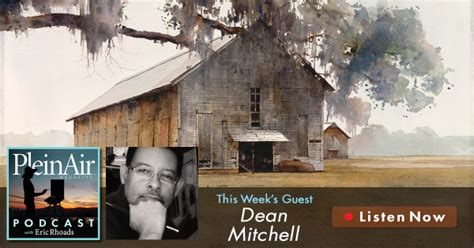 pleinair podcast episode eric rhoads artist dean mitchell