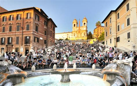 Rome's Spanish Steps Reopen After $1.7-million Renovation