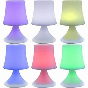 Lampe Mit Mehreren Lampenschirmen : luneos led designerleuchte wasserfeste akku lampe ~ Markanthonyermac.com Haus und Dekorationen