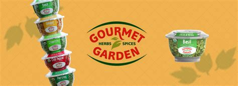 Gourmet Garden's Organically Grown Lightly Dried Herbs And