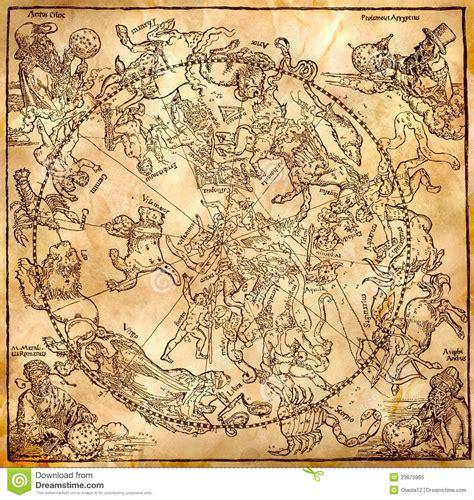 Vintage Zodiac Circle Royalty Free Stock Photo   Image: 23675965